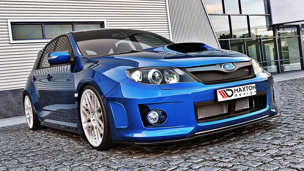 Splitter Przedni Subaru Impreza MK3 WRX STI 11-14 - GRUBYGARAGE - Sklep Tuningowy